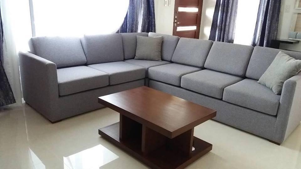 Fully Upholstered L Shape Sofa Dizon Home Furniture